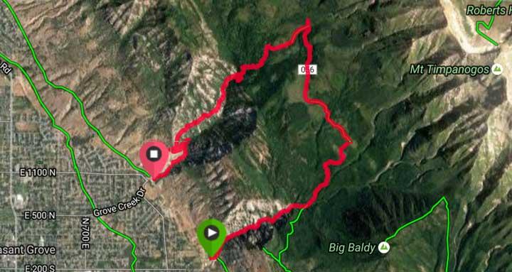 Battle Creek to Grove Creek Hike