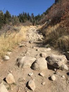 Dry Creek Trail - Mind the Rocks