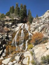 Horsetail Falls in Late October