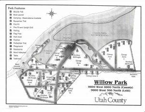 Willow Park Map, Lehi Utah