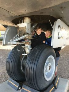 Scouts Love Airplanes at the Hill AFB Museum