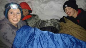 Scouts Love Snow Caves